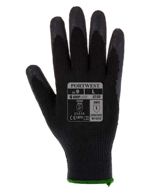 Work Glove Grip Latex