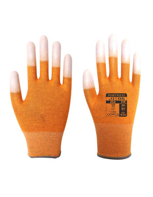 Glove Antistatic with PU fingertips