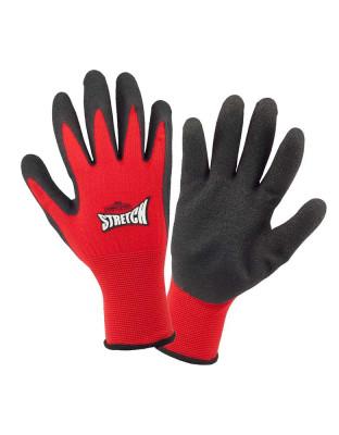 Work glove stretch