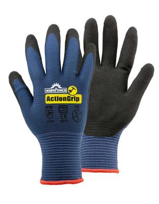 Work glove Action Grip