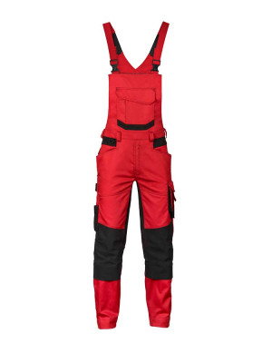 Dassy work dungarees Tronix with stretch and knee pad pockets