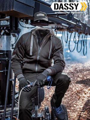Dassy sweatshirt jacket Pulse