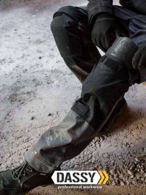 Dassy Herren Arbeitshose Boston mit Kniepolstertaschen zweifarbig