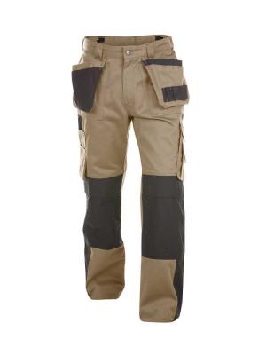 Dassy Herren Arbeitshose Seattle mit Holstertaschen und Kniepolstertaschen zweifarbig