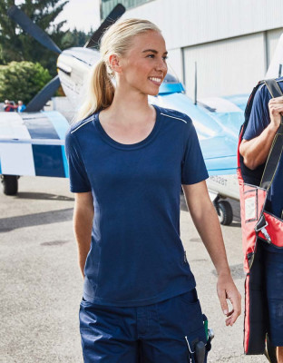 Damen Workwear T-Shirt Solid