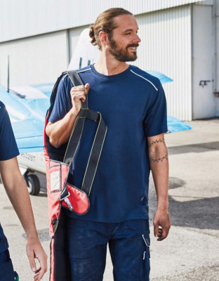 Herren Workwear T-Shirt Solid