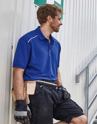 Herren Workwear Polo Solid