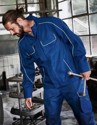 Workwear Softshell Jacke leicht Solid