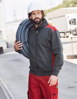 Mens Workwear Sweat Jacket Color