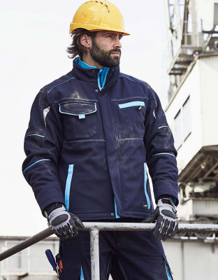 Workwear softshell jacket lined Color