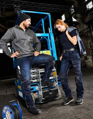 Workwear Stretch-Jeans Essential