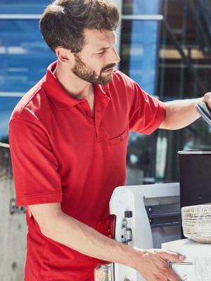 Herren Workwear Poloshirt Pocket Essential