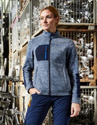 Ladies Structure Fleece Jacket Essential
