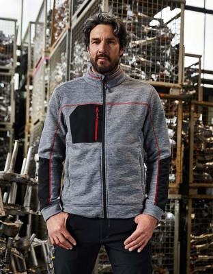 Mens Structure Fleece Jacket Essential