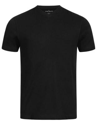 Daniel Hechter Herren T-Shirt V-Neck Regular fit Doppelpack